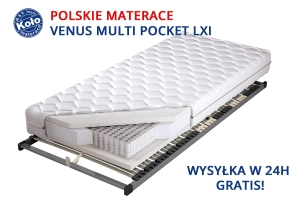 materac VENUS LXI multi pocket