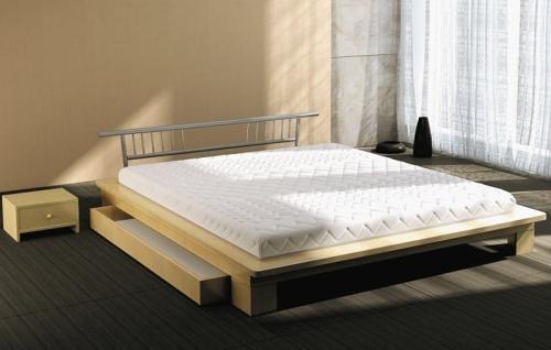 łóżko Drewniane 80220