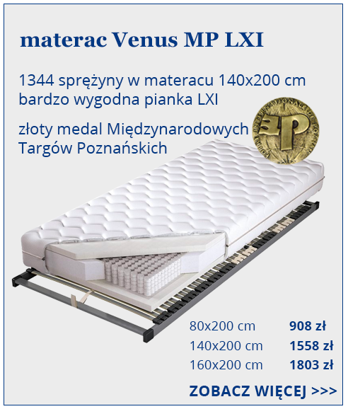 materac Koło  do spania Venus LXI MultiPocket