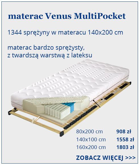 materac Koło  do spania Venus MultiPocket