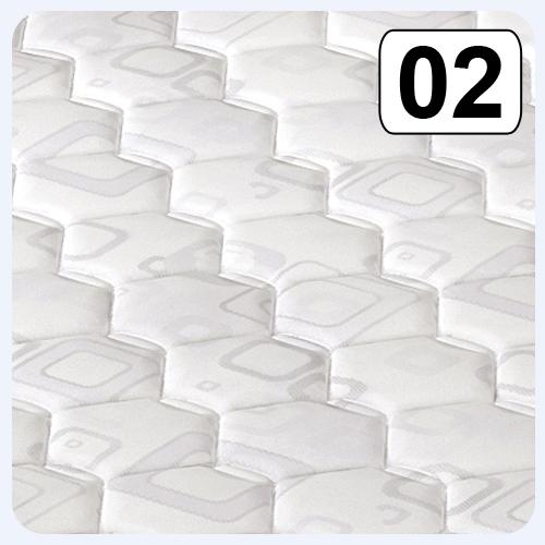 materac hotelowy pokrowiec 02 biały